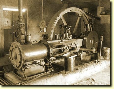 Qui a contruit la premiere machine à vapeur ?
