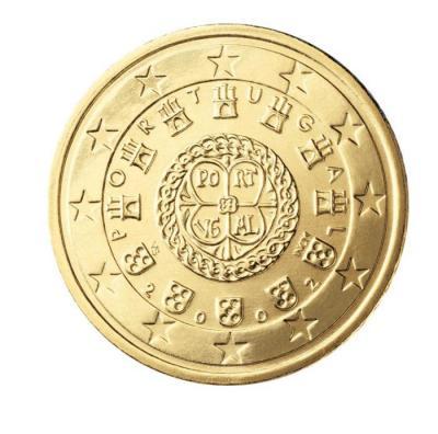 14 piece 50 centimes portugal pt 050 2002
