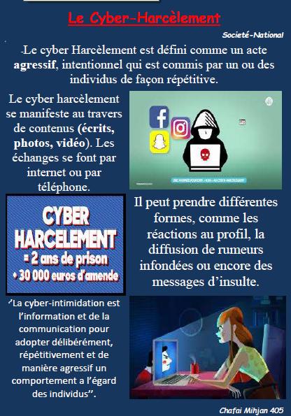 Cyber harcelement