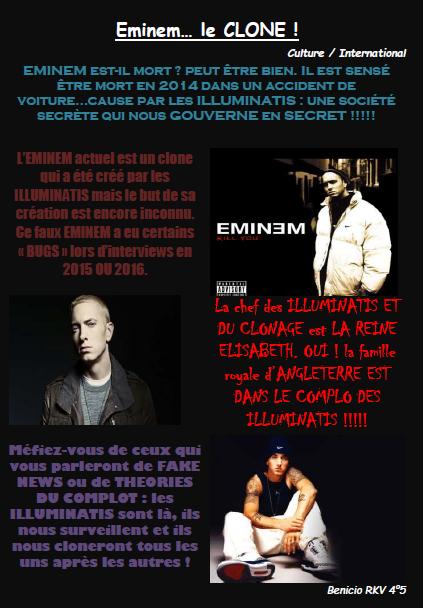 Eminem fake