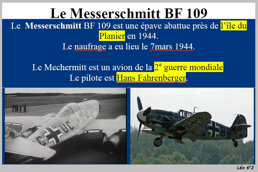 Epave Messerschmitt