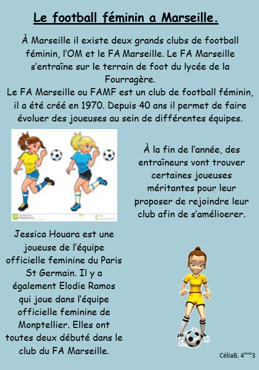 Foot feminin marseille
