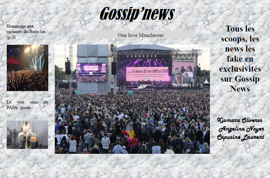 Gossip news