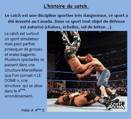 Histoire catch