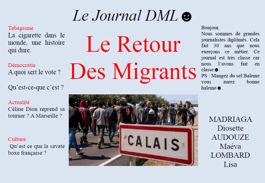 Journal dml