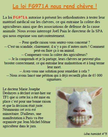 Loi chèvre