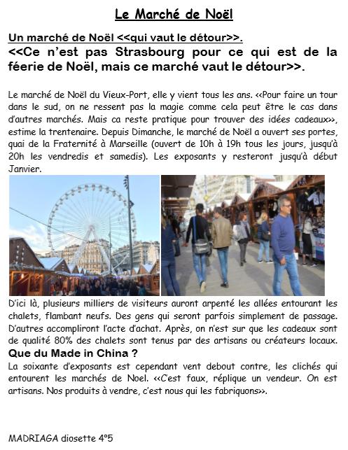 Marche noel