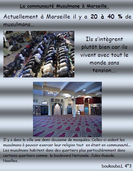 Musulmans a marseille
