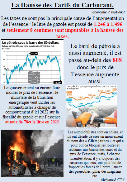 Taxes carburants