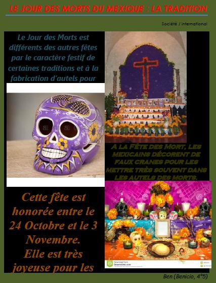 Toussaint Mexique