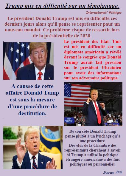 Trump marwa